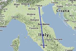 Tren Roma Padua